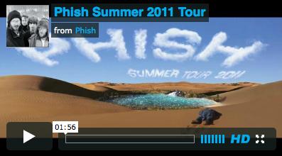 Phish Summer Tour 2011 on Vimeo