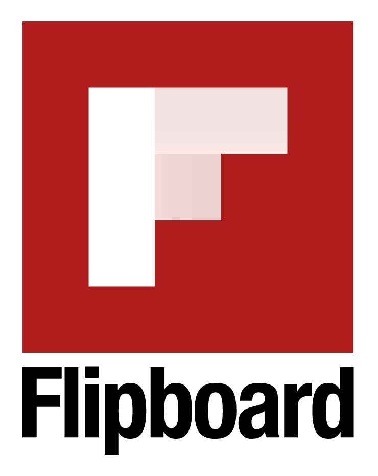 Flipboard Logo, with The Myndset