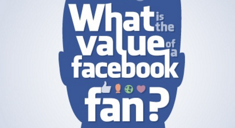 what is the value of a facebook fan