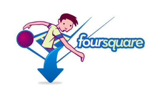 Foursquare logo, The Myndset Digital Marketing Strategy