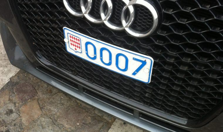 James Bond Skyfall Audi from Monaco, in Paris, The Myndset Brand strategy