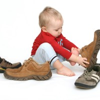 Baby and big shoes, The Myndset Digital marketing and brand long-term strategy