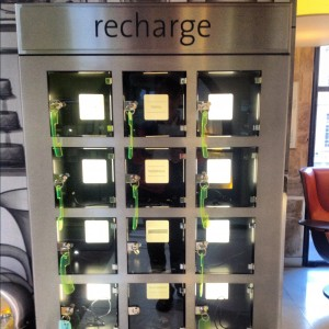 Eurostar smartphone recharge station, Myndset Digital Marketing and Brand Strategy