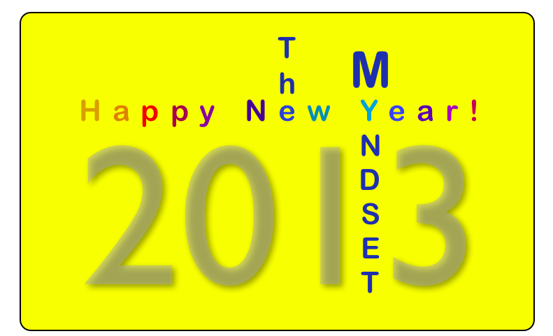 Happy New Year 2013, The Myndset Digital Marketing