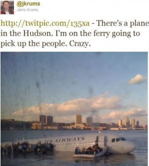 NYT - Twitter Hudson river social media editor communication