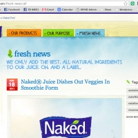 Naked Juice Latest Fresh New, The Myndset Digital Marketing