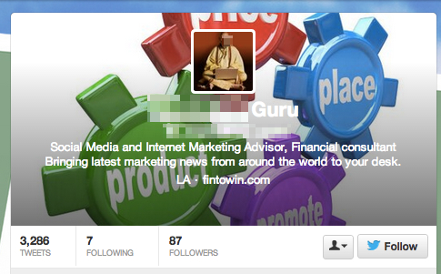 Spam Twitter, Who to follow on Twitter? @MDIAL The Myndset Digital Marketing