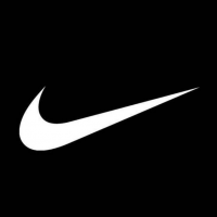 Nike logo, white on black, The Myndset digital marketing one too many
