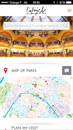Luxury Customer Experience Les Galeries Lafayette - Myndset digital strategy