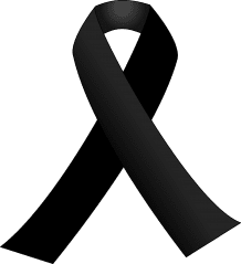 black_ribbon #jesuisCharlie