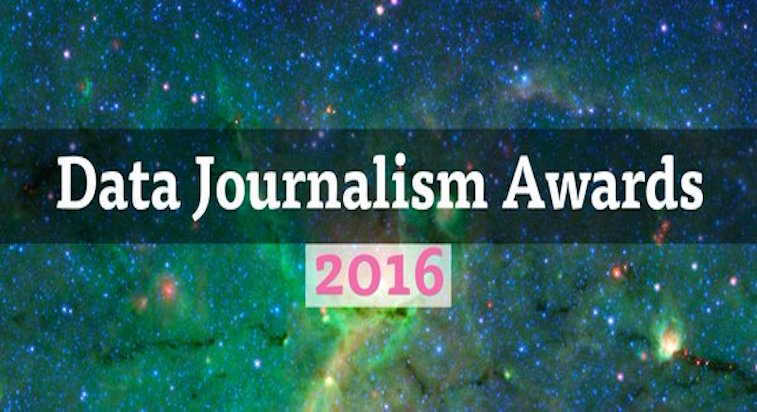 Data Journalism Awards