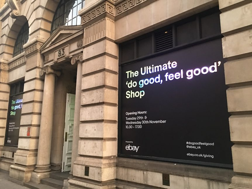 "Ebay's ""Do Good, Feel Good"" Shop"