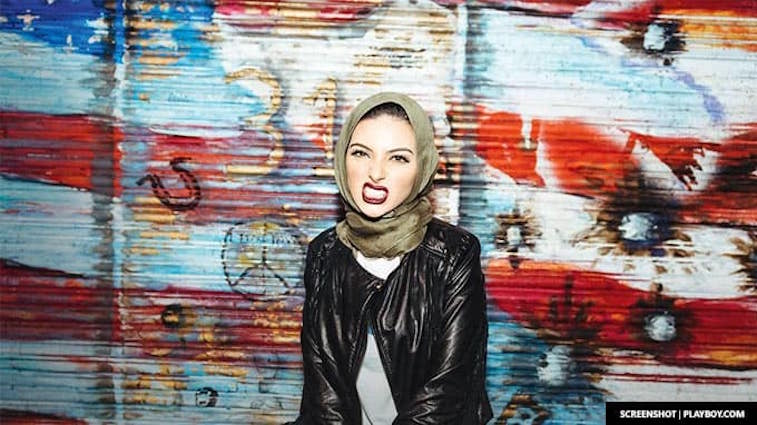 noor-tagouri-newsy-reporter-becomes-first-woman-to-wear-hijab-in-playboy