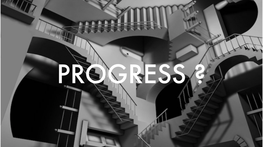 Progress infinite staircase