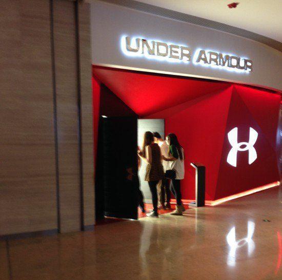 Under Armour Shanghai, storytailing, The Myndset digital marketing brand strategy