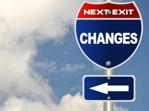 Changes street sign, The Myndset Branding and Thought Leadership