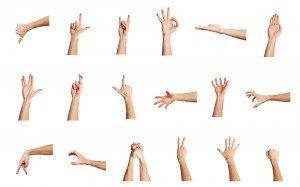 Hand-Gestures brand comms