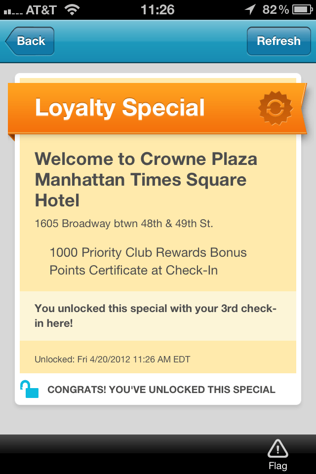 Crowne Plaza New York, The Myndset Digital marketing strategy