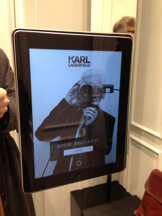 Karl Lagerfeld interactive dressing room, the myndset digital marketing brand strategy
