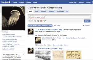 Lt Cdr Minter Dial Facebook page
