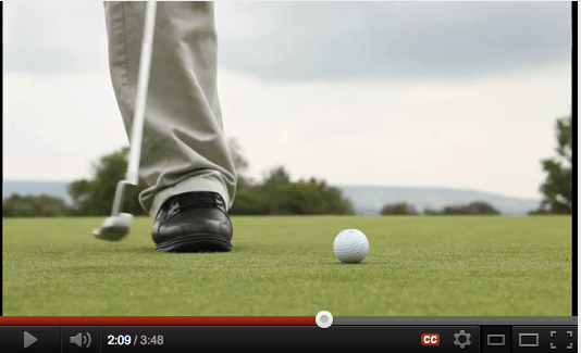 One legged golf player inspiration, The Myndset Branding Strategy and Leadership