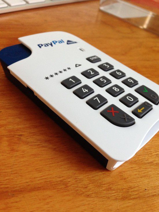 Paypal Here terminal device - myndset digital strategy