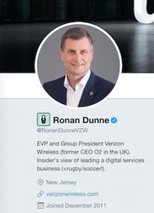 Ronan Dunne digital presence