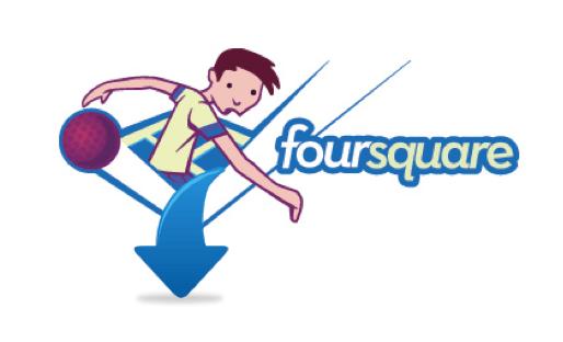 Foursquare logo, The Myndset Digital Marketing Strategy