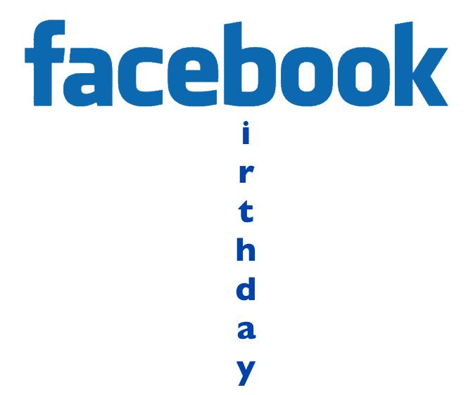 Facebook birthday, The Myndset Digital marketing and brand strategy