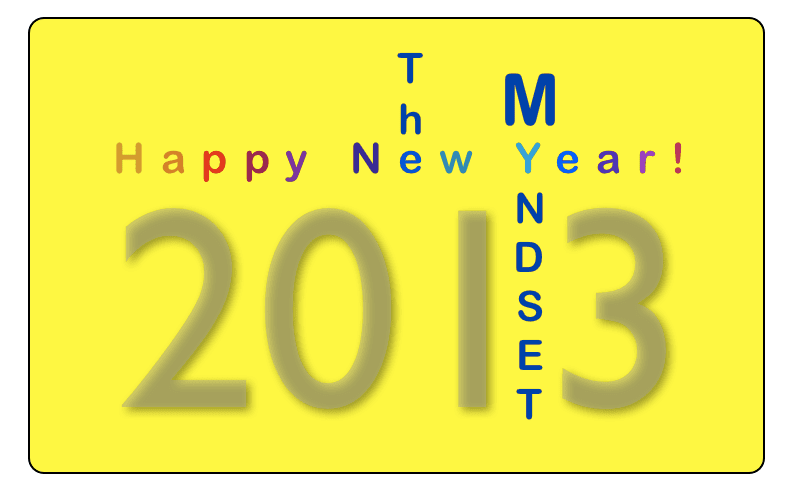 Happy New Year 2013, The Myndset Digital Marketing