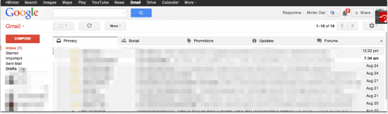 Gmail Tabs email marketing, The Myndset digital marketing and brand strategy