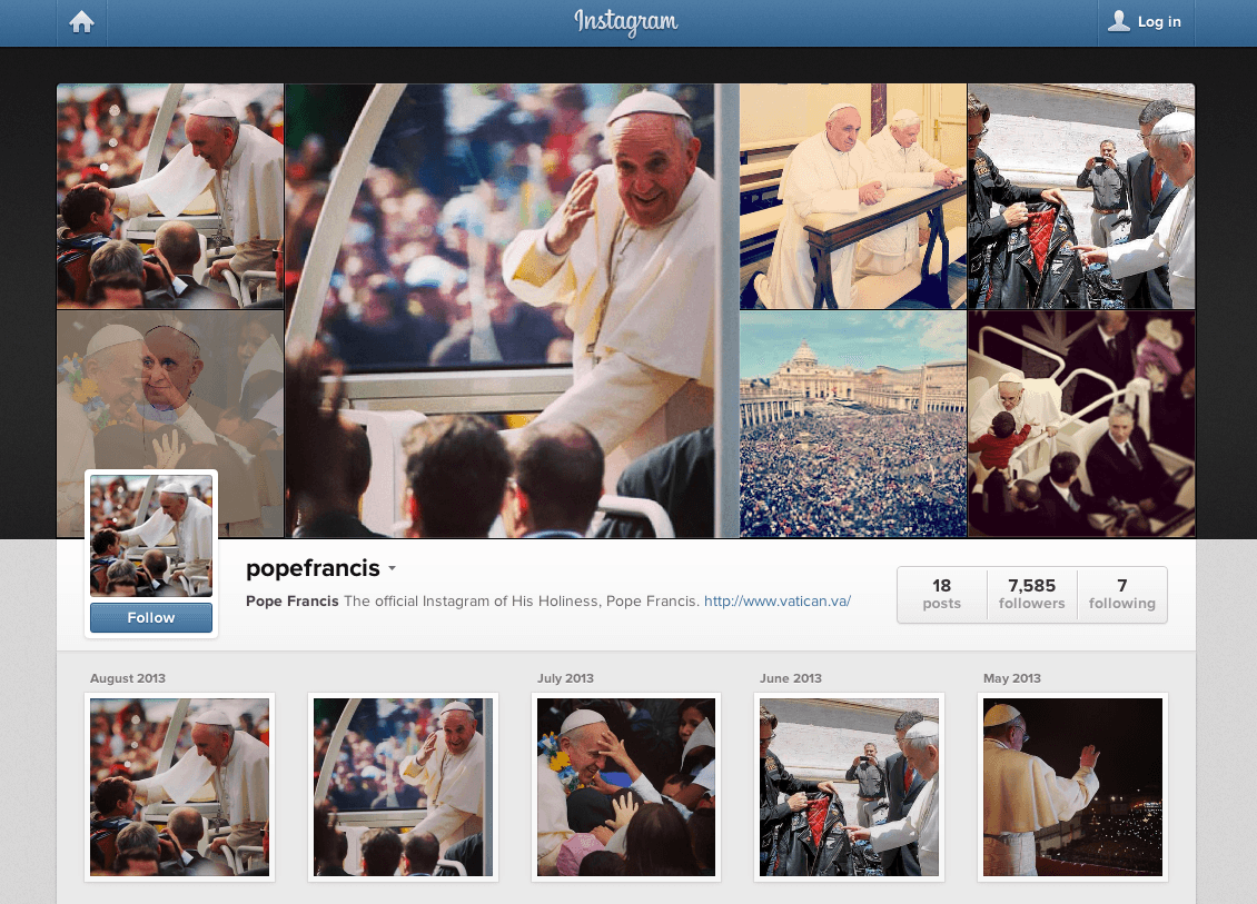 Instagram Social Media, The Myndset brand strategy digital marketing