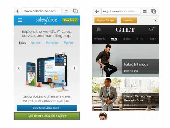 Mobile Experience - the myndset digital strategy