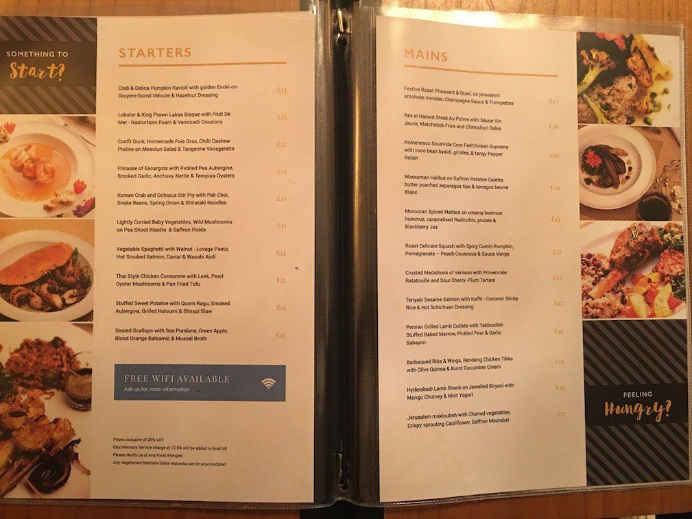 Spelling Mistakes in Menu
