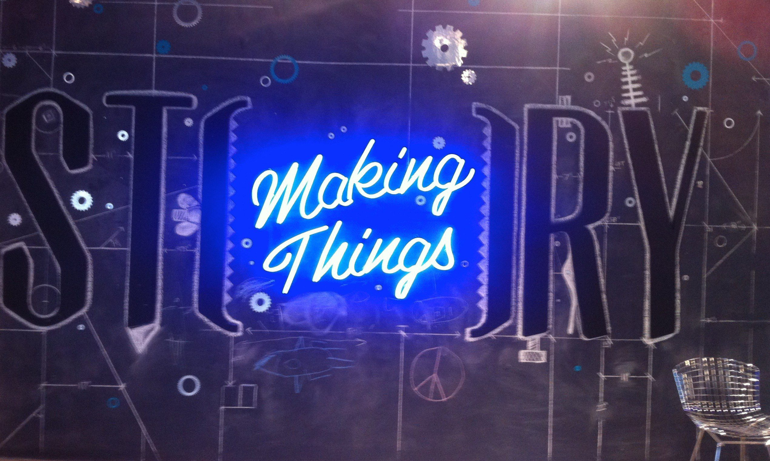 Story Making Things, The Myndset Digital Marketing and Brand Strategy by Minter Dial