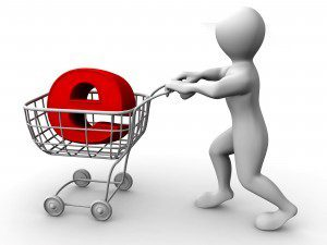 eCommerce basket on the internet, via The Myndset Digital Marketing