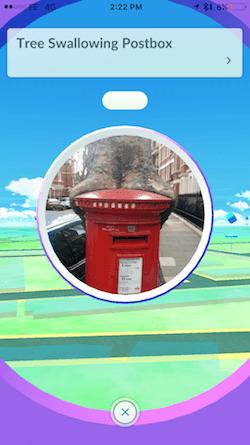 pokemon go pokestop